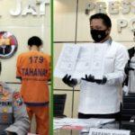 Mahasiswa Pemalsu Hasil RTA Diringkus Polda Jatim