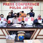 Pengedar Sabu Jaringan Malaysia di Tangkap Polda Jatim