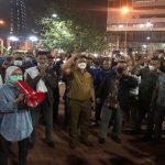 Perayaan HUT Partai Demokrat Kubu Moeldoko di Bubarkan
